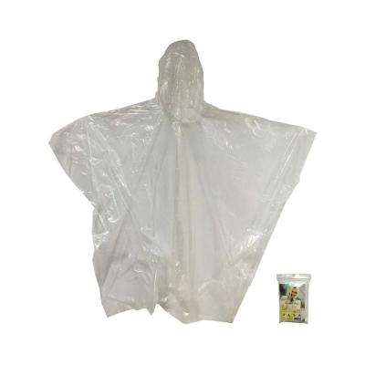 Kingstate Quick Cover Poncho in Clear