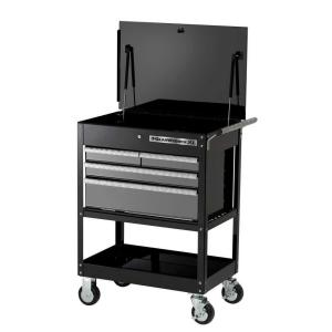 GearWrench XL Series 32 inch 4-Drawer Tool Cart, Black/Silver by GearWrench