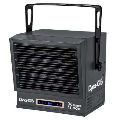 15,000-Watt Dual Power Electric Garage Heater with Remote Control