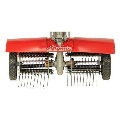 Aerator and Dethatcher Combo for Tillers