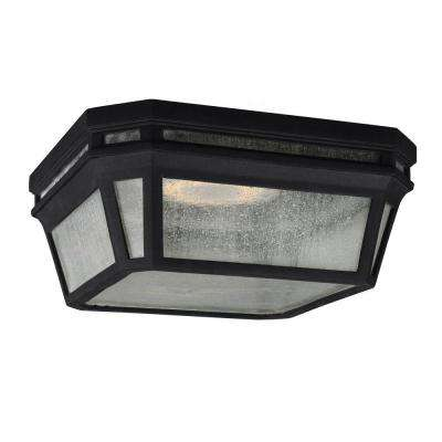 Londontowne 2-Light Black Outdoor Ceiling Fixture