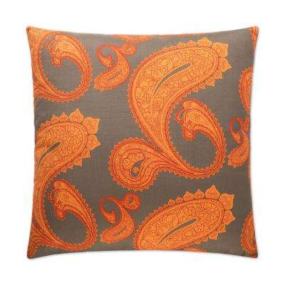 Stockholm Feather Down 24 in. x 24 in. Standard Decorative Throw Pillow