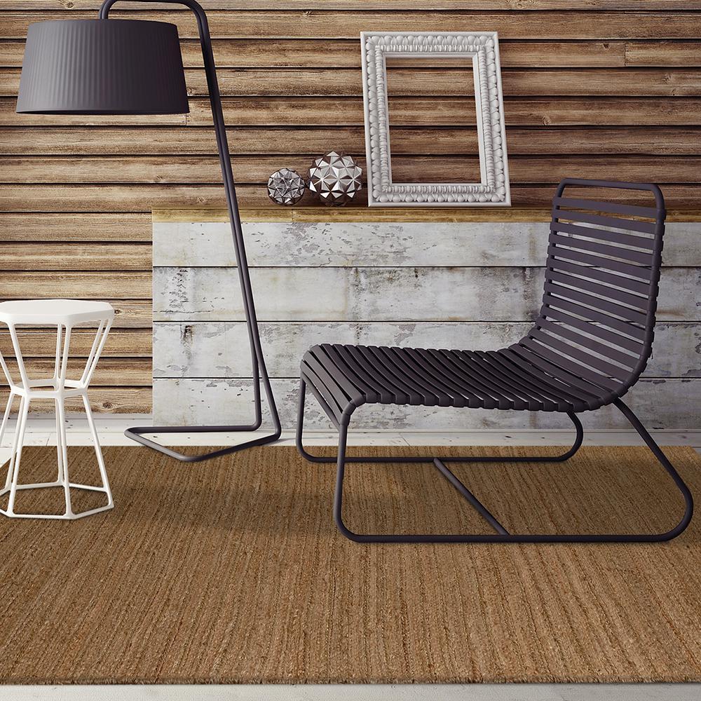 Hemp Weave Natural 8 ft. x 10 ft. Area Rug