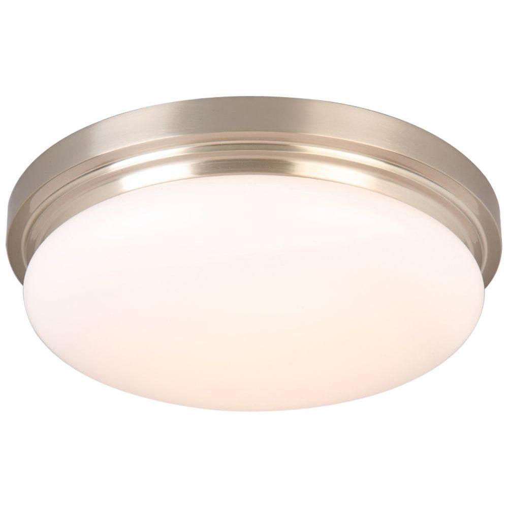 Keep It Clean 11119 Light Kit GhostLight Red w//White LED 4.5 Fixed Single Flush Mount Light Kit