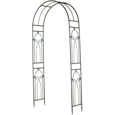 Emerald 41 1/2 in. x 14 in. x 96 in. Metal Arbor