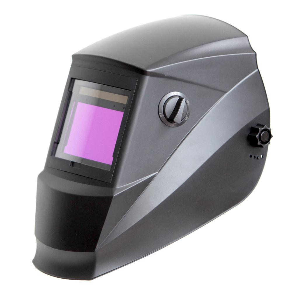 Solar Power Auto Darkening Welding Helmet with Large Viewing Size 3.78