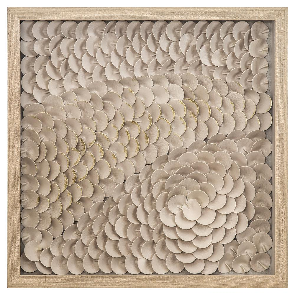Yosemite Home Decor Intricacy I Framed Wall Art, Beige/gold was $289.0 now $178.83 (38.0% off)