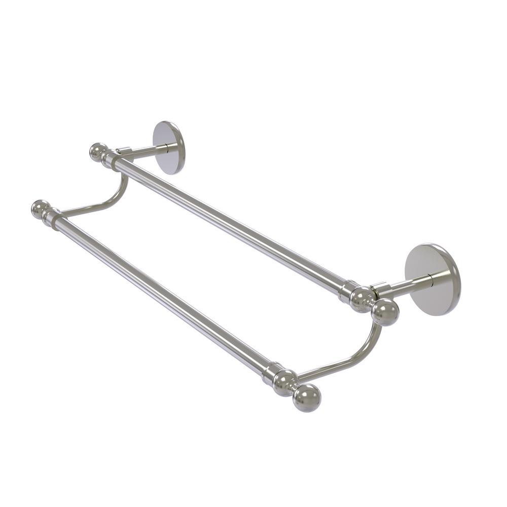 Skyline Collection 24 in. Double Towel Bar in Satin Nickel