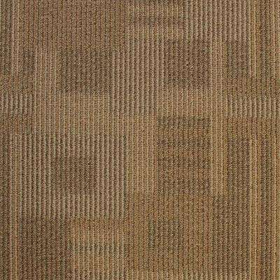 Board of Directors Masonry Clay Loop 19.7 in. x 19.7 in. Carpet Tile (20 Tiles/Case)