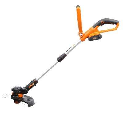 10 in. 20-Volt Lithium-Ion Cordless Grass Trimmer/Edger