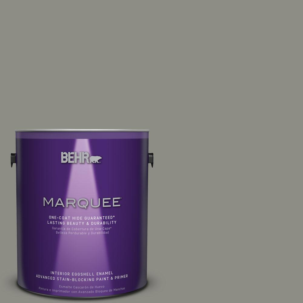 1 gal. #N370-5 Incognito One-Coat Hide Eggshell Enamel Interior Paint