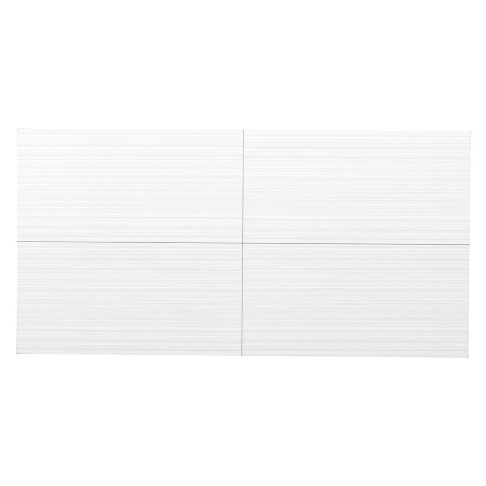 MONO SERRA Wall Design 12 in. x 24 in. Reverso Suspended Grid Panel Wall Tile (20 sq. ft. / case)