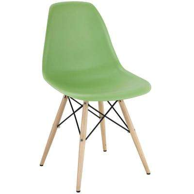 Pyramid Light Green Dining Side Chair