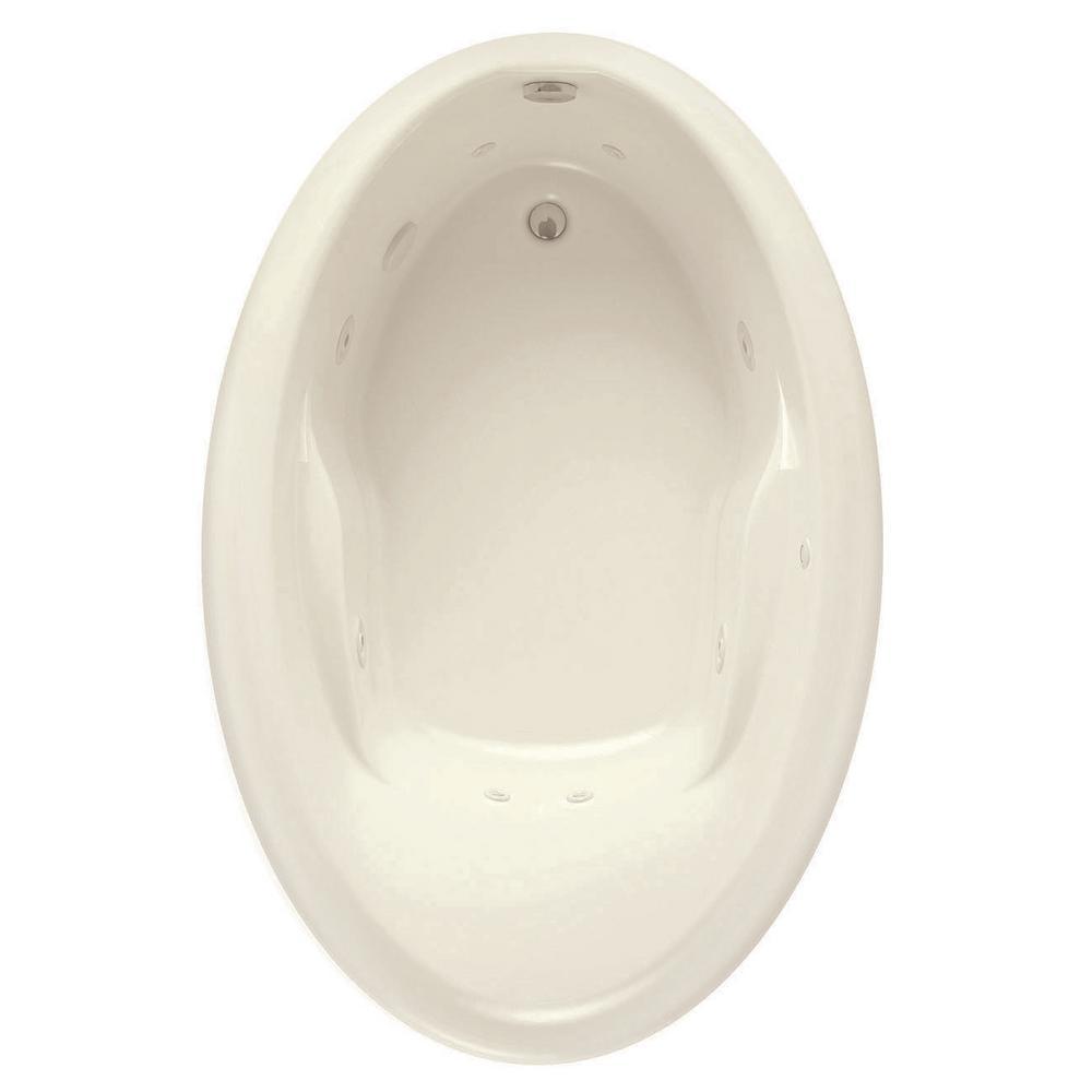Aquatic Starla 60 in. Acrylic Reversible Drain Oval Drop-in ...