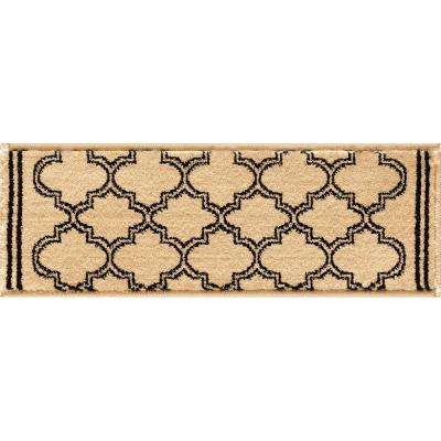 Stratford Garden Gate Ivory 9 in. x 26 in. Stair Tread Cover