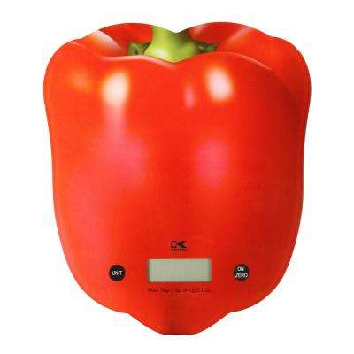 Red Pepper Digital Kitchen Scale