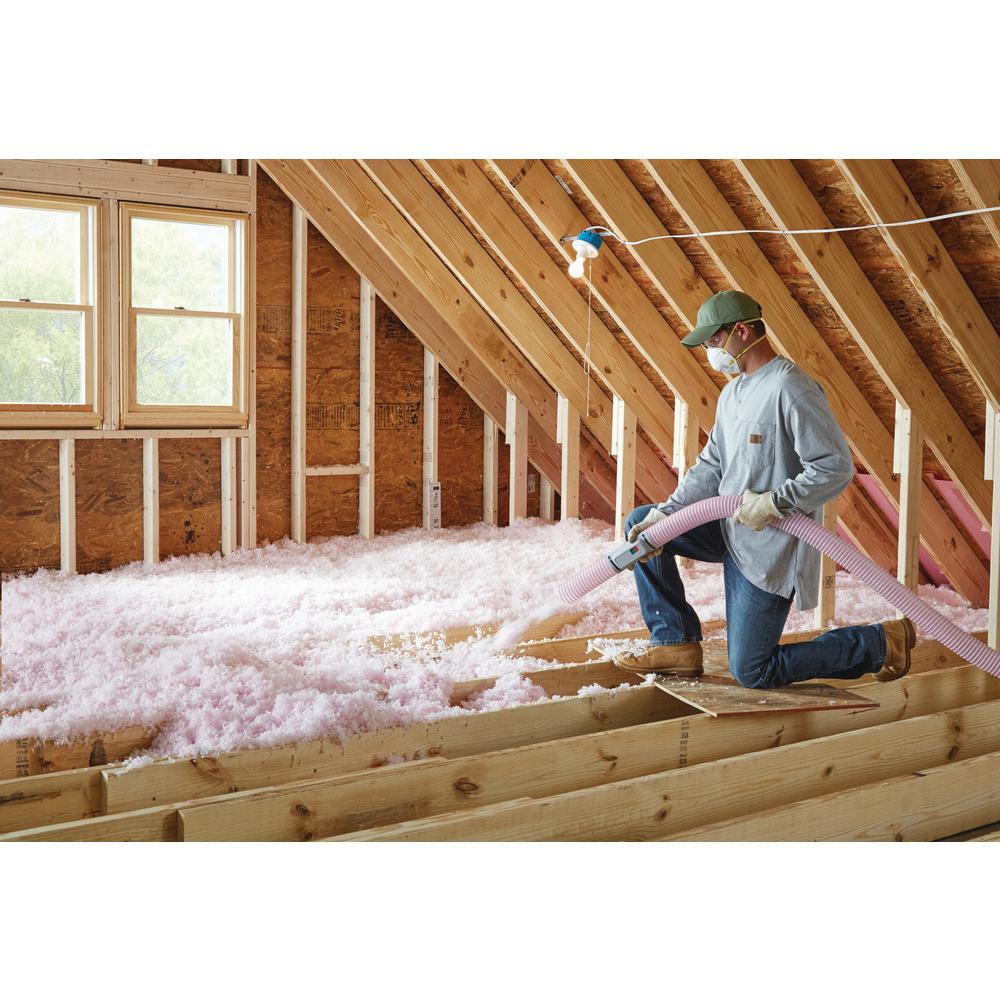Owens Corning Atticat Pink Expanding Fiberglass Blown In Insulation System L38a The Home Depot