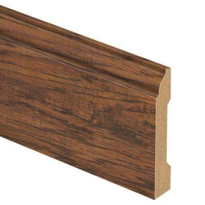Highland Hickory 9/16 in. Thick x 3-1/4 in. Wide x 94 in. Length Laminate Base Molding