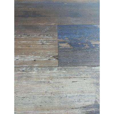 Colors Floor and Wall DIY Samba Wood Aged 6 in. x 36 in. Painted Style Luxury Vinyl Plank (30 sq. ft. / case)