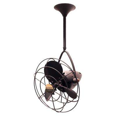 Jarold Direcional 13 in. Indoor Bronze Ceiling Fan with Wall Control