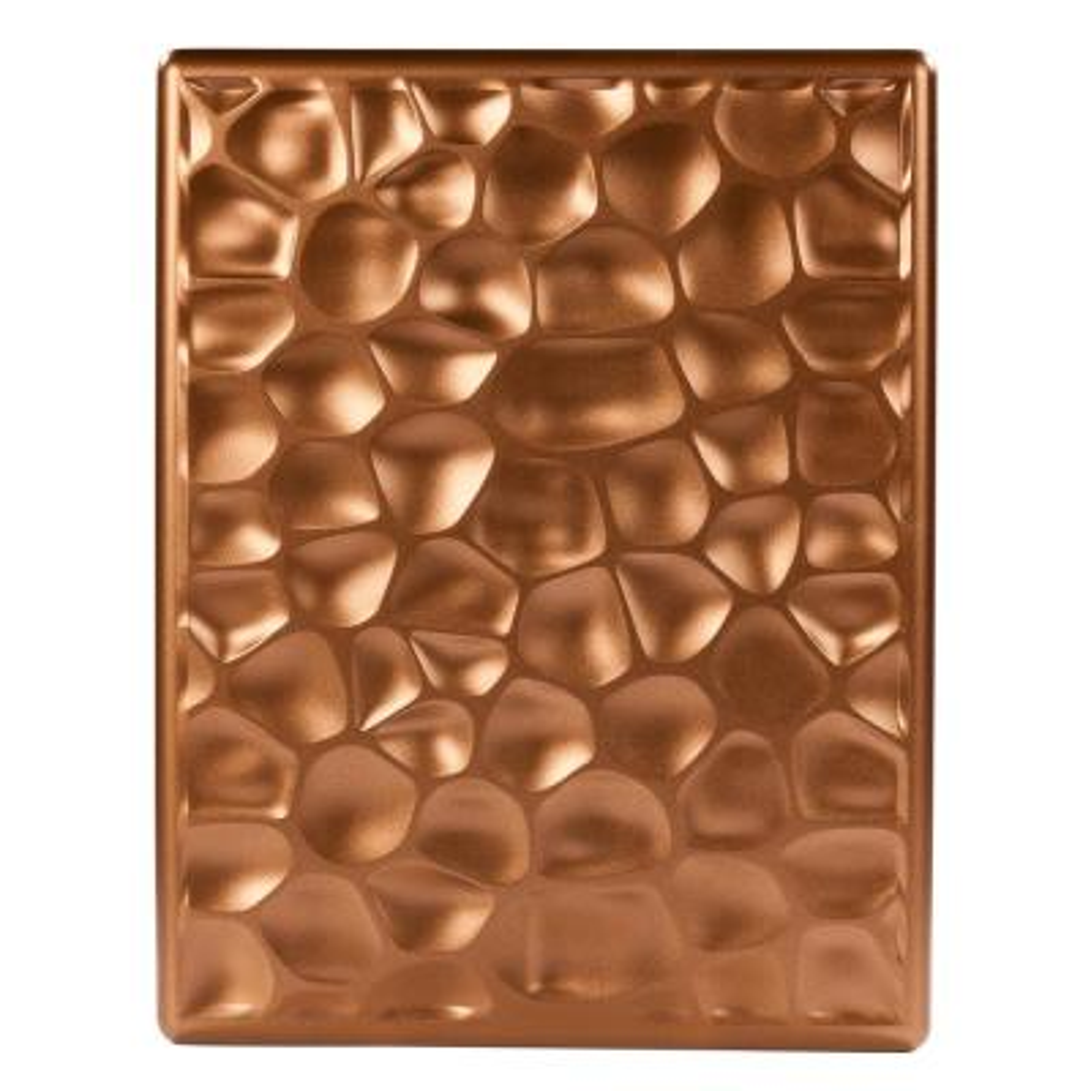Wireless or Wired Doorbell Hammered Copper Design