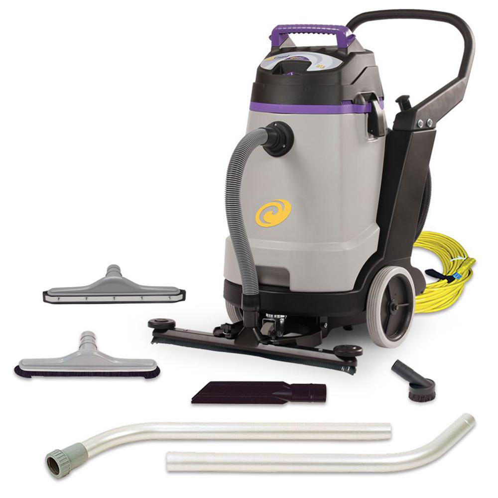 ProTeam ProGuard 20 gal. Wet Dry Vac with Tool Kit and Front Mount Squeegee