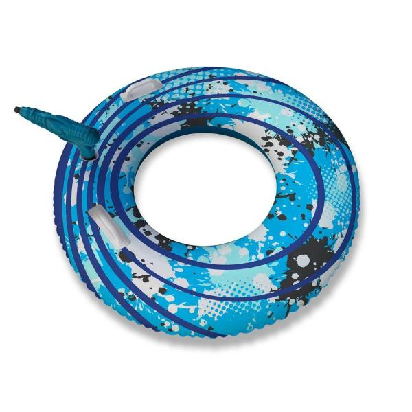 Blue Wave Blaster Ring 42 in. Inflatable Pool Toy with Squirter