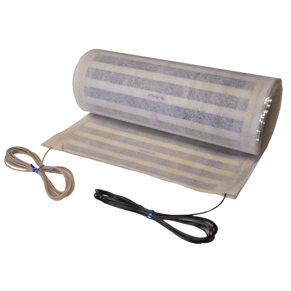 QuietWarmth Ft X In X In Volt Peel And Stick - Best way to heat tile floor