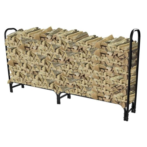 8 ft. Heavy Duty Firewood Rack