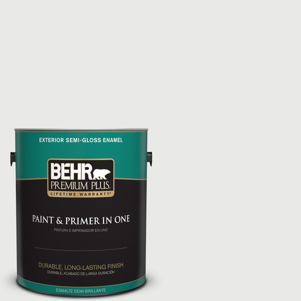 1 gal. #HDC-CT-22G Chalk Dust Semi-Gloss Enamel Exterior Paint