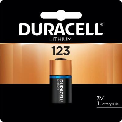 Duracell - 123 High Power Lithium Battery - (1-pack)
