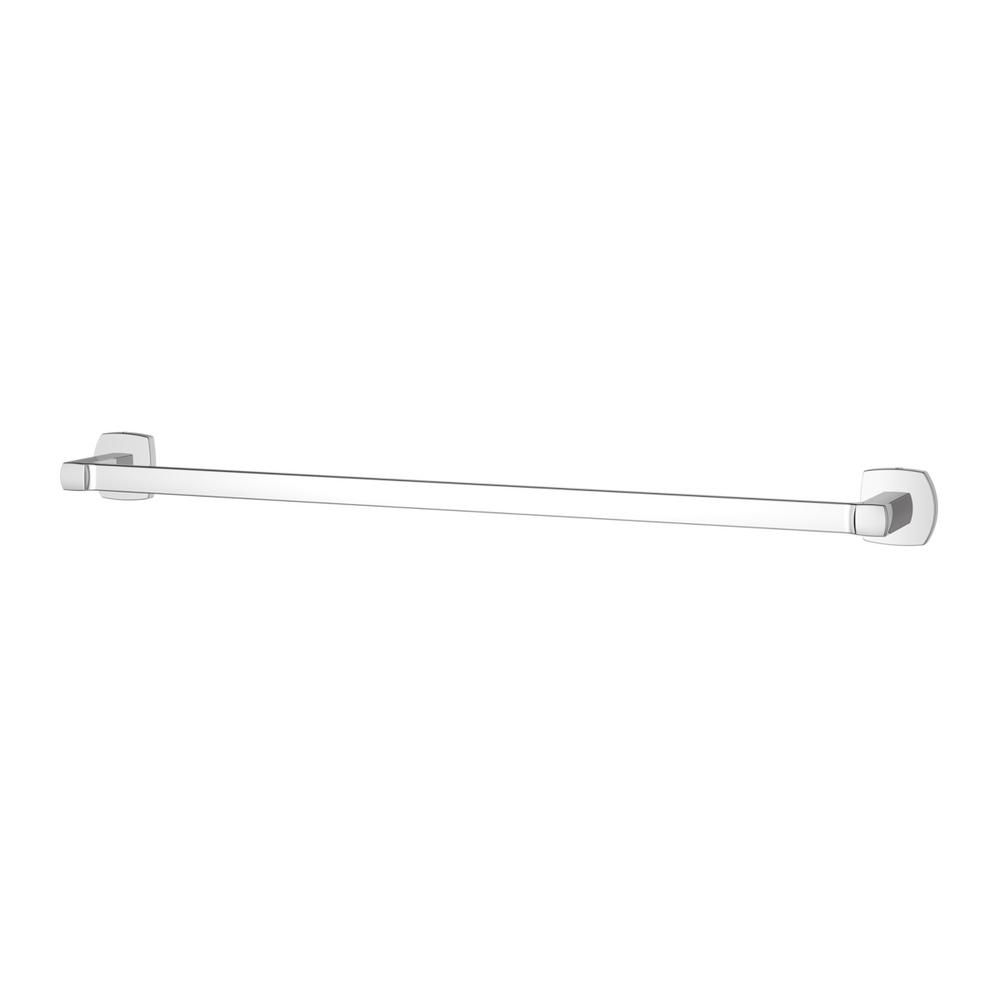 Pfister Deckard 24 in. Towel Bar in Polished Chrome