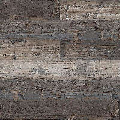 Double Box Floor and Wall Reggae Wood 6 in. x 36 in. Vinyl Plank (60 sq.ft./Case)