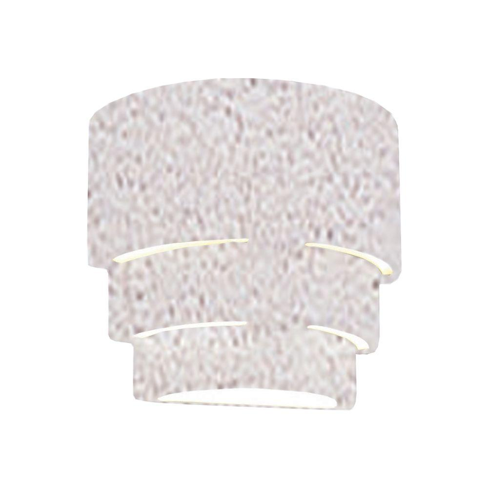 Filament Design Clifton 1-Light Outdoor Textured Bisque Ceramic Wall Sconce