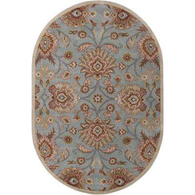 Cambrai Moss 8 Ft X 10 Oval Indoor Area Rug