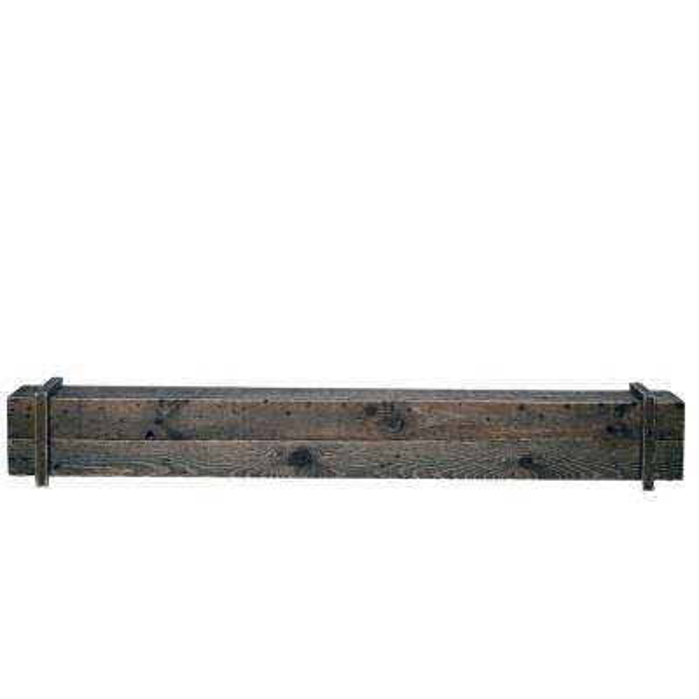 Cavalli Rustic 45 in. x 6.3 in. Mantel Shelf