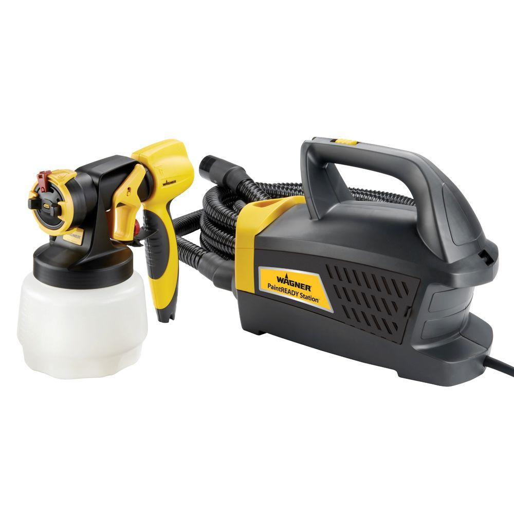 HVLP Paint Ready Sprayer Station