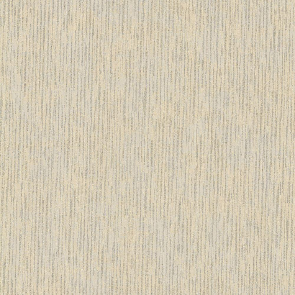 Chandra Gold Ikat Texture Wallpaper