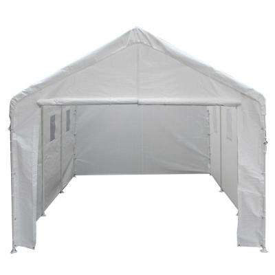 10 ft. W x 20 ft. D Universal Enclosed Canopy