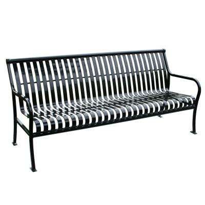 6 ft. Black Premier Bench
