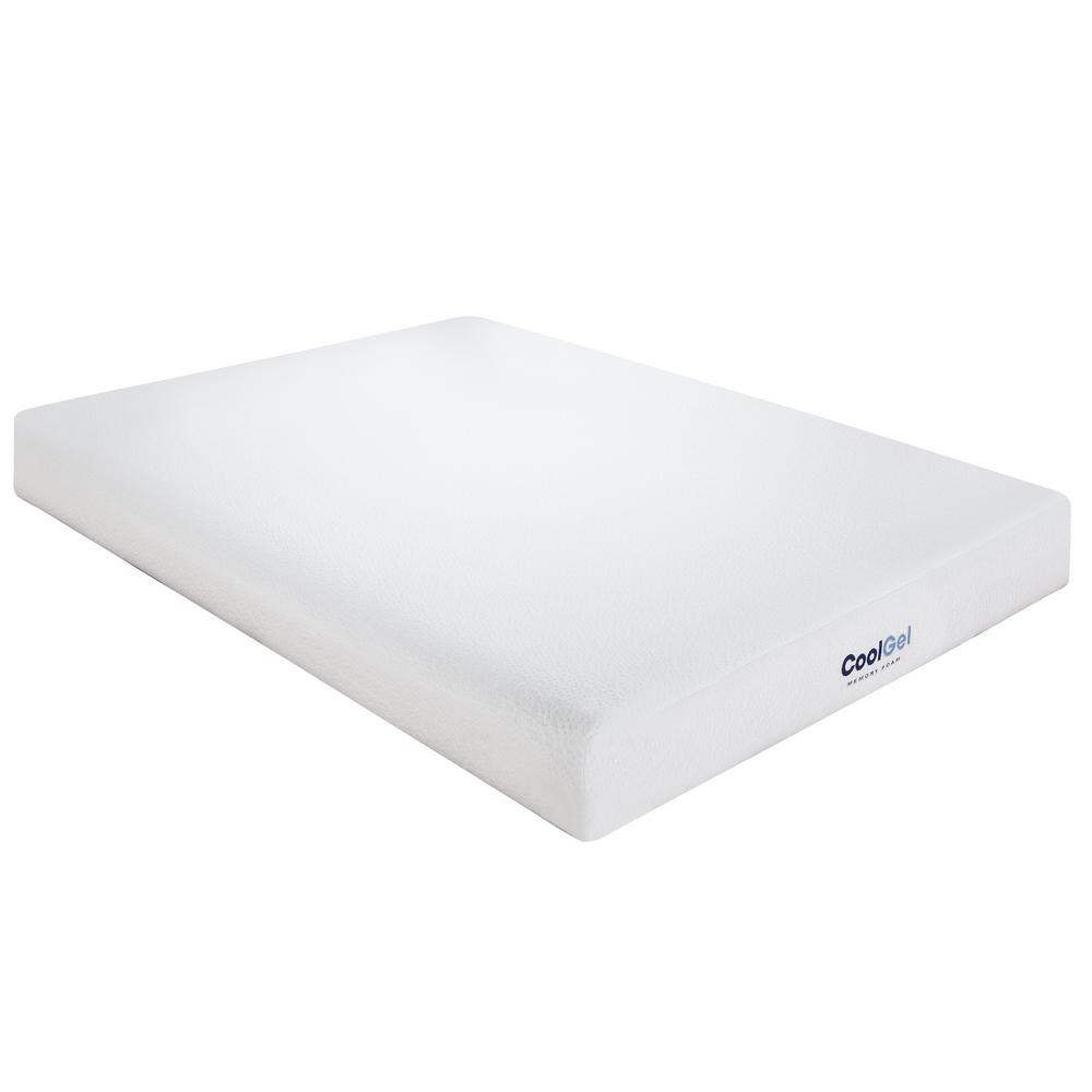 Cool Gel Queen-Size 6 in. Gel Memory Foam Mattress