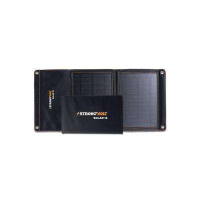 12-Watt Folding Solar Charger with SunTrack Technology