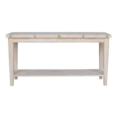 Prevail Uned Wood Flip Open Multi Functional Table