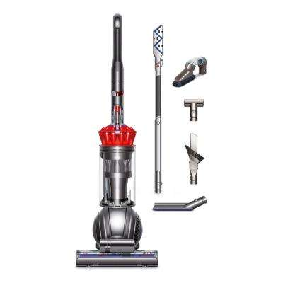 'Ball Complete Upright Vacuum with Extra Tools' from the web at 'https://images.homedepot-static.com/productImages/7bf198d1-c622-4280-9976-7703af19c398/svn/reds-pinks-dyson-upright-vacuums-237358-01-64_400_compressed.jpg'