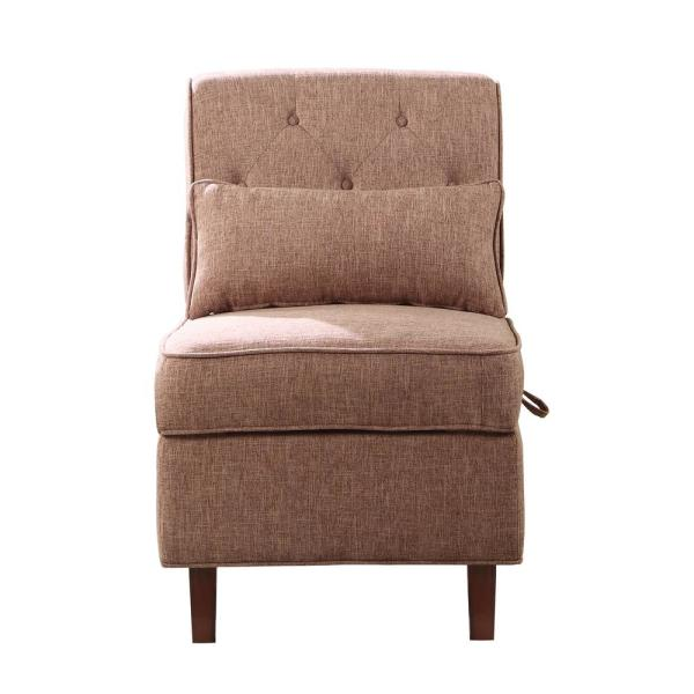 Brown Storage Accent Chair 92011-16BR