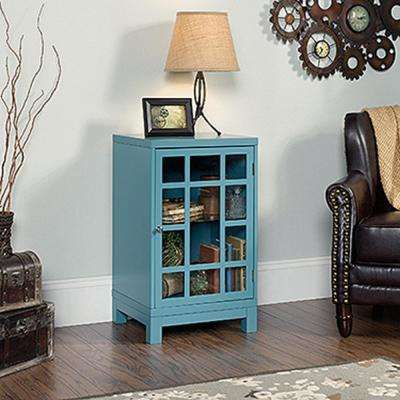 Carson Forge Moody Blue Display Cabinet