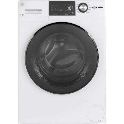 2.4 cu. ft. High-Efficiency Stackable White Front Loading Washing Machine with Steam, ENERGY STAR