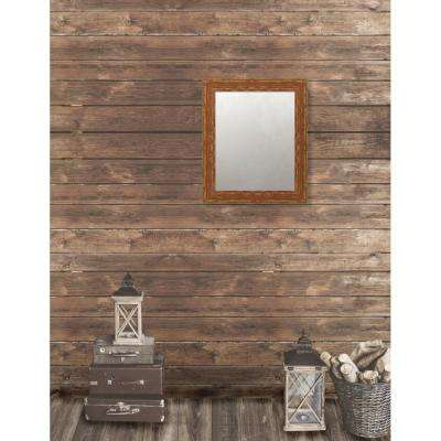 Remington 20.75 in. x 24.75 in. French Antique Wide Framed Antique Mirror