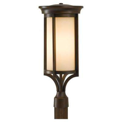 Merrill 2-Light Heritage Bronze Outdoor Post Top Light