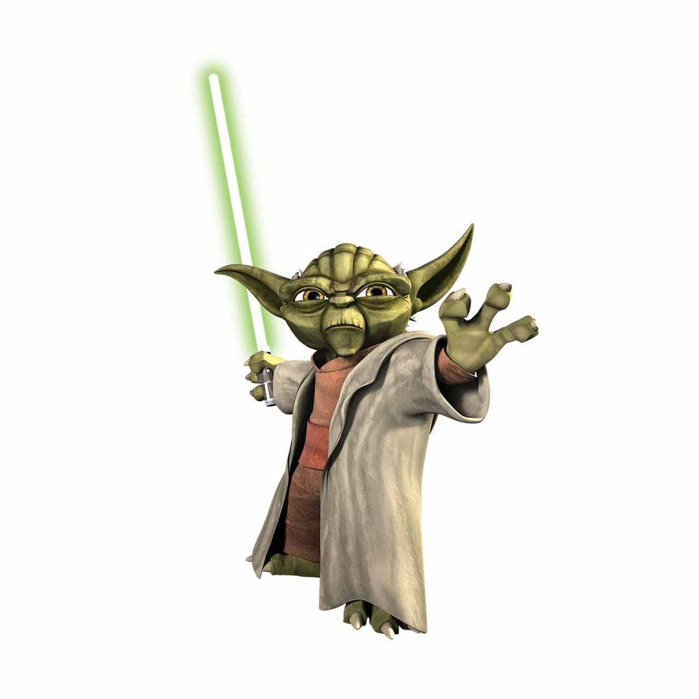 RoomMates Star Wars Yoda Peel and Stick Giant Wall Decals-DISCONTINUED